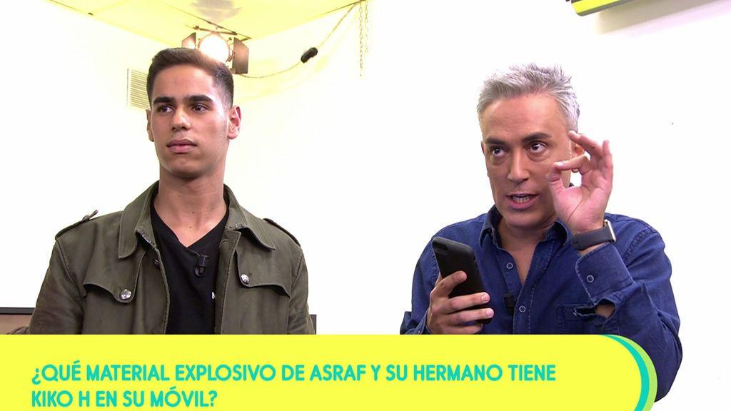 Kiko Hernández tiene unas pantallazos que relacionarían a Asraf con Miguel Vilas