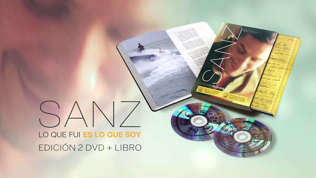 'Sanz. Lo que fui es lo que soy' ahora con 2 DVD's repletos de material inédito y libro.