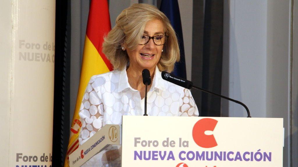 Begoña Elices, presidenta de la Asociación Española de Anunciantes, en el Foro de la Nueva Comunicación.