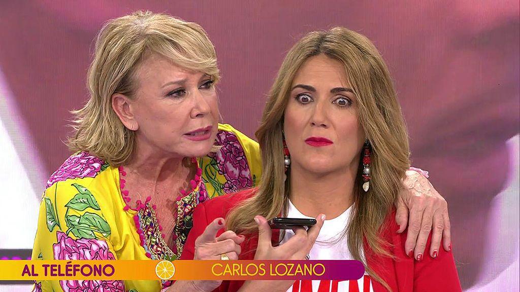 """Carlos Lozano llama enfurecido y ataca duramente a Miriam: """"Estoy reventado por la poca vergüenza que tiene"""""""