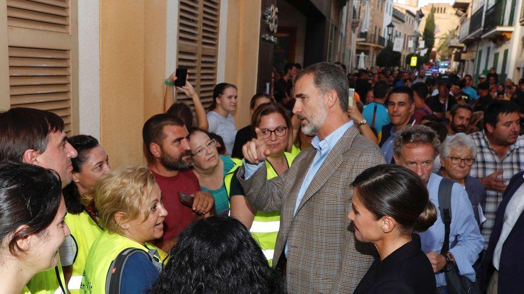 Los Reyes visitan Mallorca