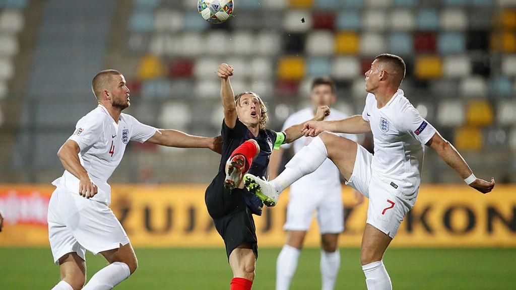 Sube el volumen: así suena sin público el partido Croacia - Inglaterra de la UEFA Nations League