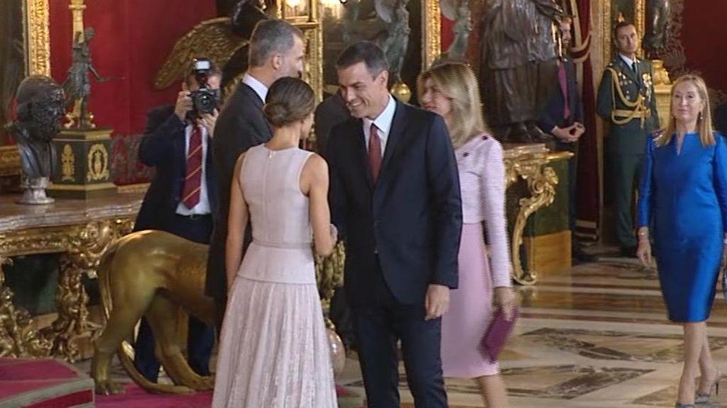 El despiste de Pedro Sánchez en su primer 12 de octubre como presidente