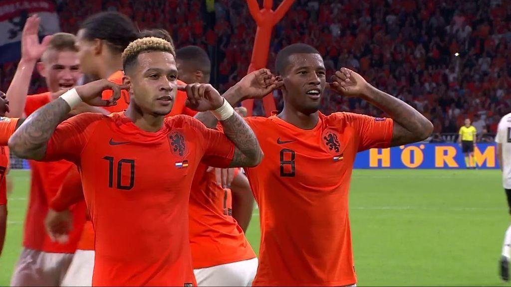 Wijnaldum marca el gol de la sentencia a Alemania, que atraviesa su peor racha desde el Mundial de Brasil (3-0)