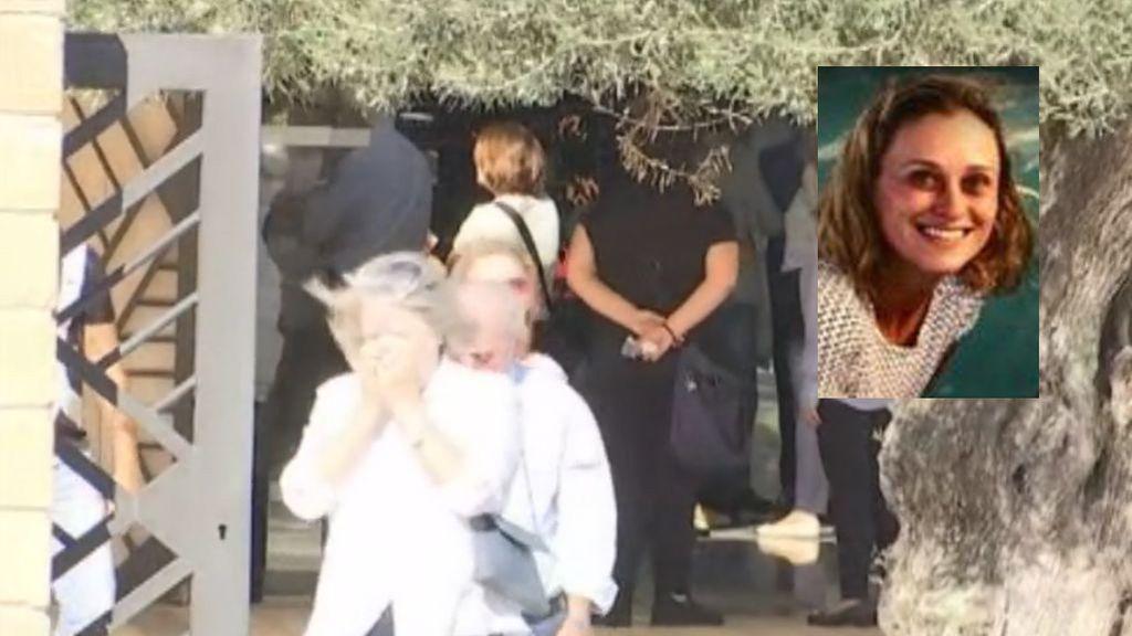 Cientos de personas, entre ellas Rafa Nadal, se despiden de Joana, la madre del desaparecido Artur