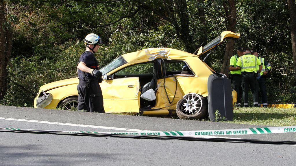 Tres muertos en un accidente de tráfico en Valdoviño (A Coruña)