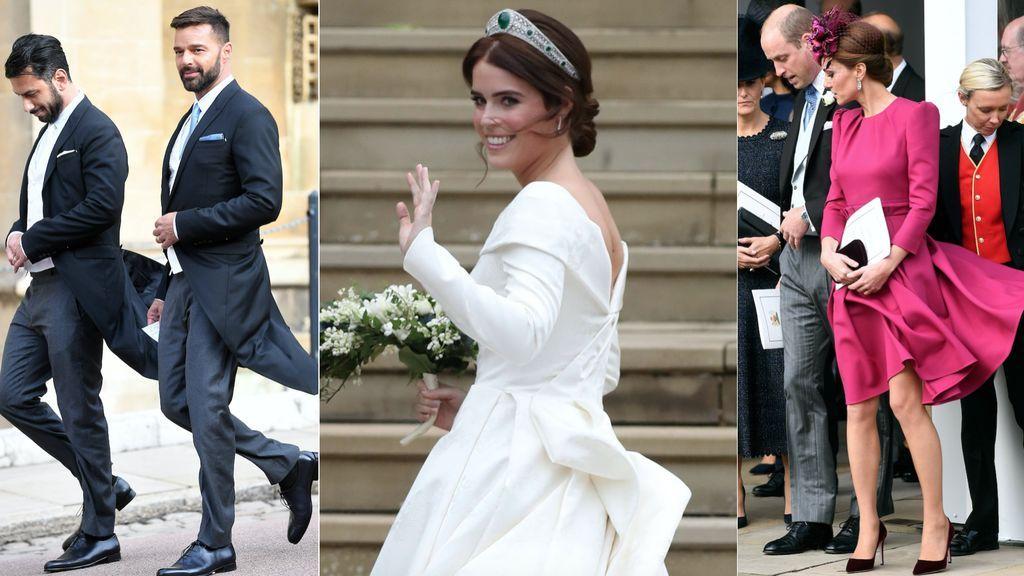 Celebrities por doquier, cicatriz reivindicativa y vendaval: analizamos la boda (más 'it' que 'royal') de Eugenia de York