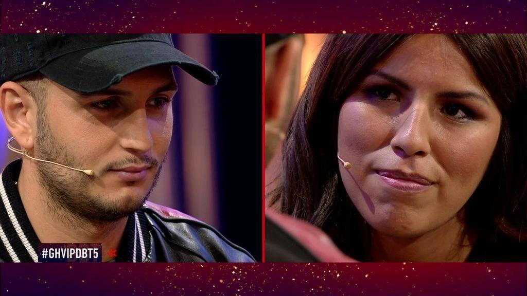 """Omar se confiesa con Isa en un cara a cara: """"Mi corazón me impide darte un beso, pero te quiero mucho"""""""