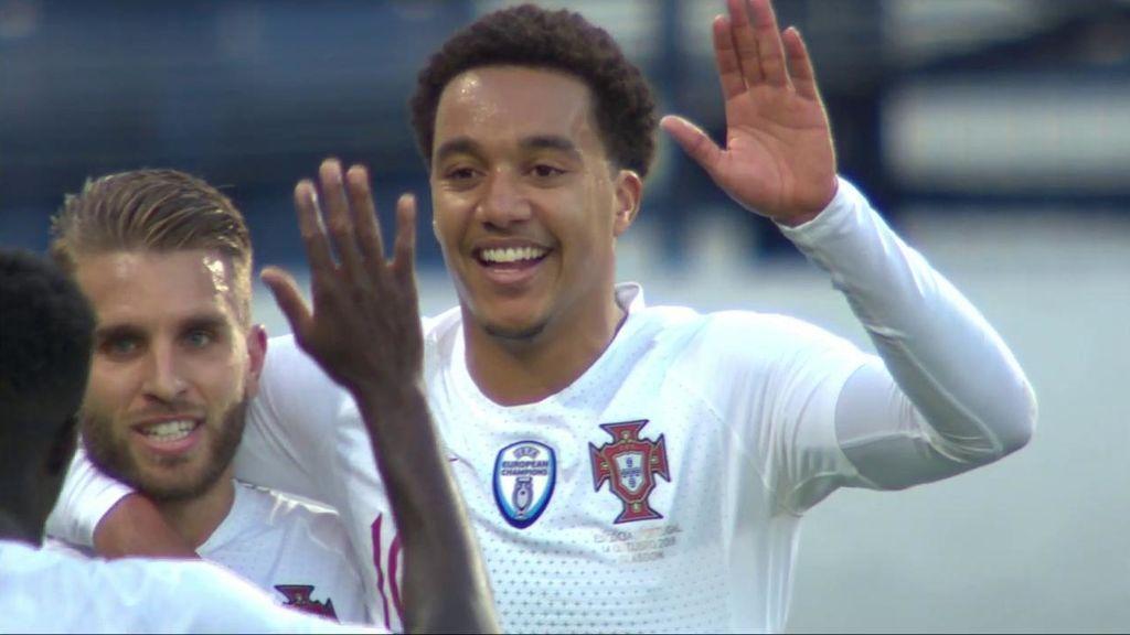 Hélder Costa, sustituto inesperado de Cristiano: marca gol en su debut con Portugal (0-1)