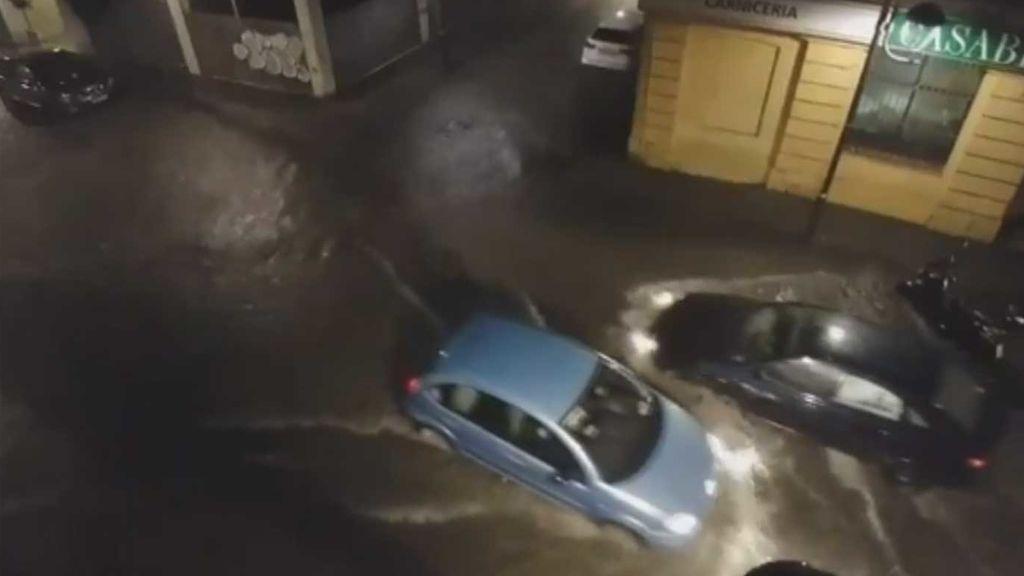 Leslie deja en Tarragona 30 litros en media hora y causa el caos