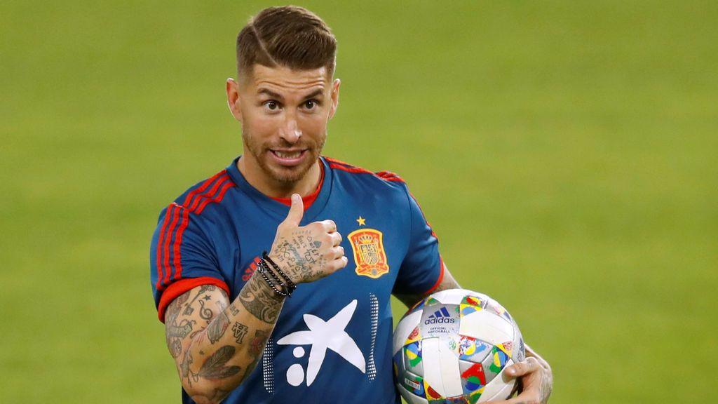 Sergio Ramos pide el apoyo de la afición sevillana para el partido clave de España ante Inglaterra
