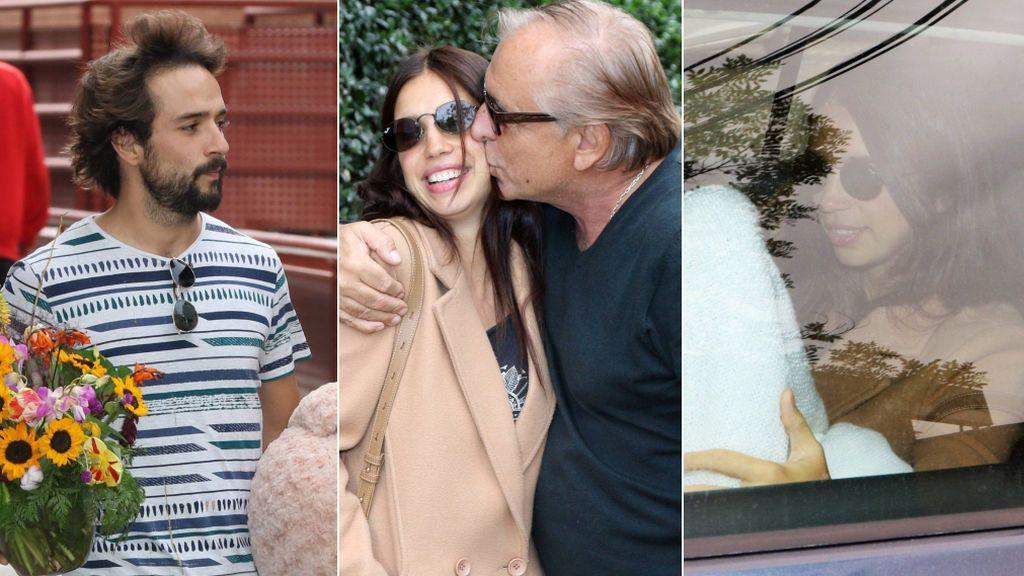 """Elena Furiase sale del hospital tras dar a luz: """"Un poquito cansada y dolorida pero ha sido un parto muy bueno"""""""
