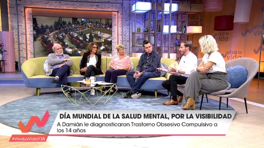 """Toñi Moreno, sobre los problemas de salud mental: """"Ya es hora de hacer visible lo invisible"""""""