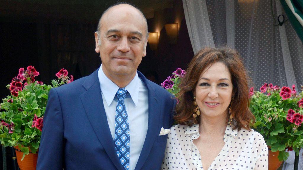 """El marido de Ana Rosa rompe su silencio y le agradece su apoyo: """"Seguimos adelante"""""""