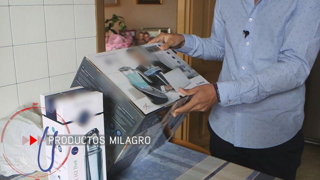 Una jarra filtradora de agua, vendida por 2.300 euros.