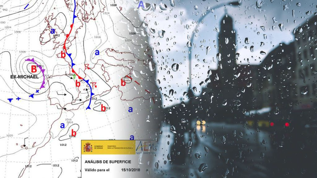 Tras Leslie, llega el exhuracán Michael por Galicia: las provincias a las que más afectará