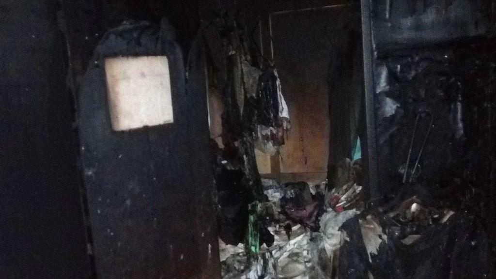 Seis heridos en el incendio de una vivienda en Pamplona