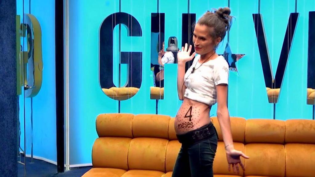 GH VIP | Verdeliss alcanza su cuarto mes de embarazo en la casa ...
