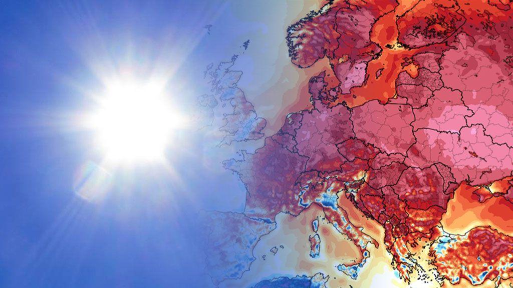 Alemania, Noruega, Rusia y el Ártico con hasta 10ºC más de lo normal, gracias al anticiclón