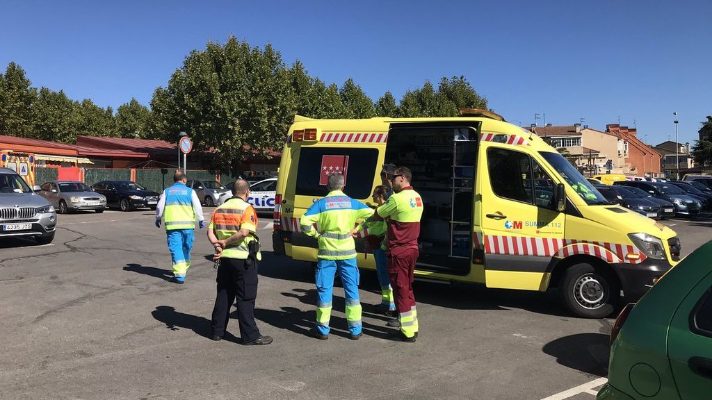 Encuentran el cadáver de un hombre apuñalado dentro de un coche en Madrid