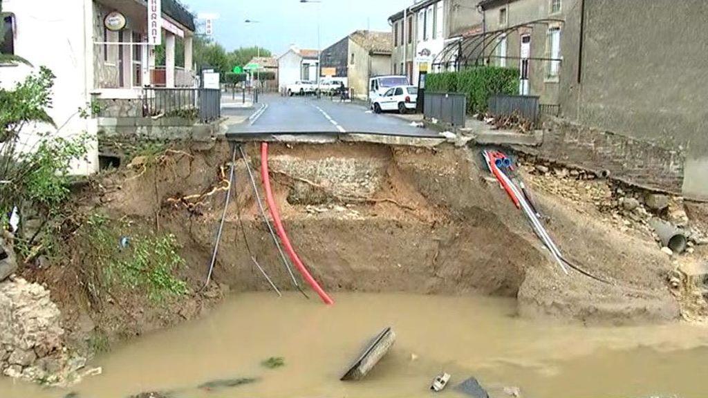 """Inundaciones en Francia: """"Se escuchó un ruido como si hubiese explotado una bomba"""""""
