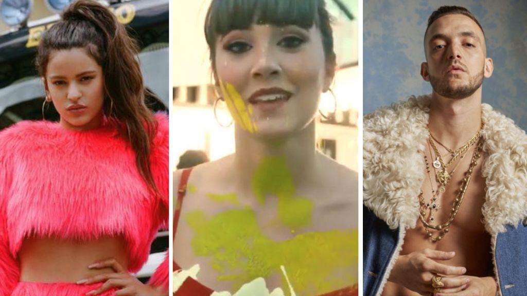 Halloween como una 'celebrity' (literal): claves de estilo para que te disfraces de Rosalía, Aitana, C. Tangana y más