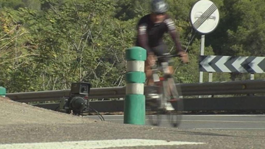 100 euros de multa a un ciclista por no respetar el límite de velocidad