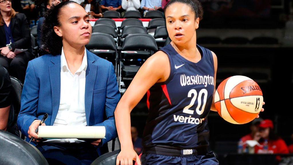 Jugará en los Mystics de la WNBA y entrenará a los Wizards de la NBA: la consumación del sueño de Kristi Toliver