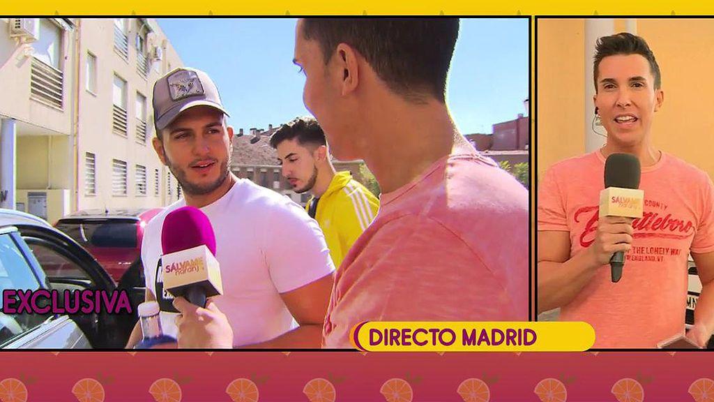 """Omar Suárez: """"Chabelita cree que todo ha sido una estrategia de Omar Montes para publicitarse como cantante"""""""