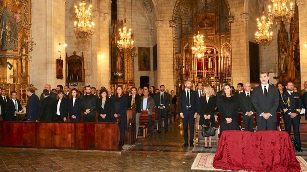 Funeral vítimas Mallorca