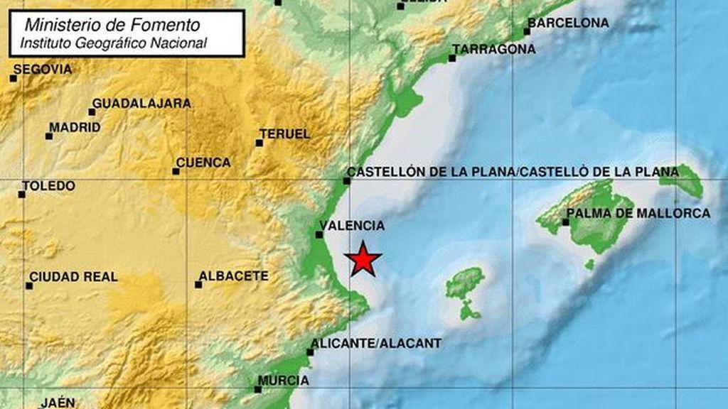 Valencia tiembla con un nuevo terremoto de 4 grados