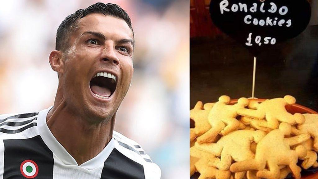 Polémica por galletas sexuales inspiradas en Cristiano Ronaldo