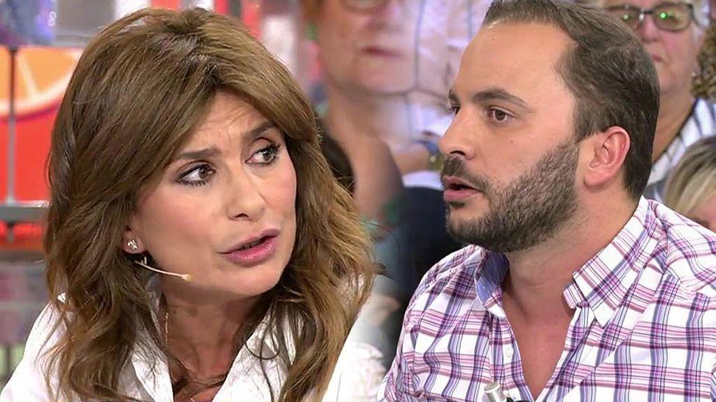"""Antonio Tejado se enfada con Gema López: """"¡Qué sucio lo que has hecho!"""""""