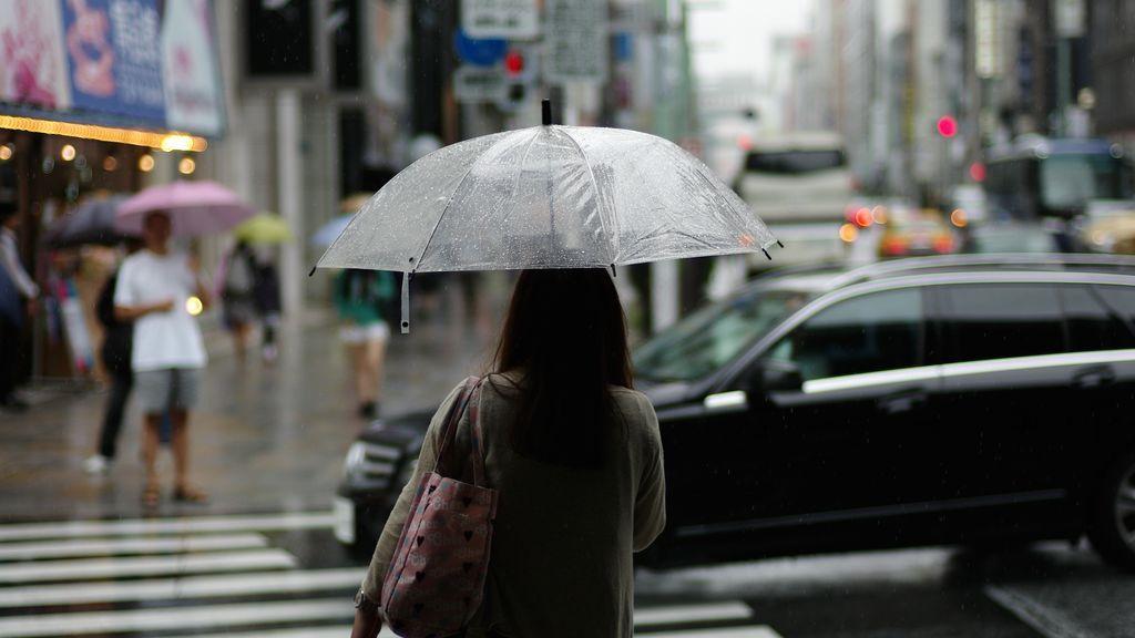llover calle