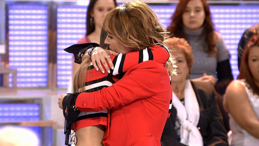 El abrazo más largo de Emma en 'MyH': Violeta, rota de dolor por Julen
