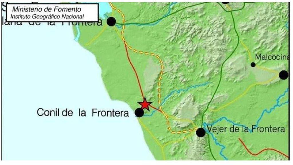 Terremoto de magnitud 4 se siente en Conil de la Frontera:  Susto sin daños ni pérdidas