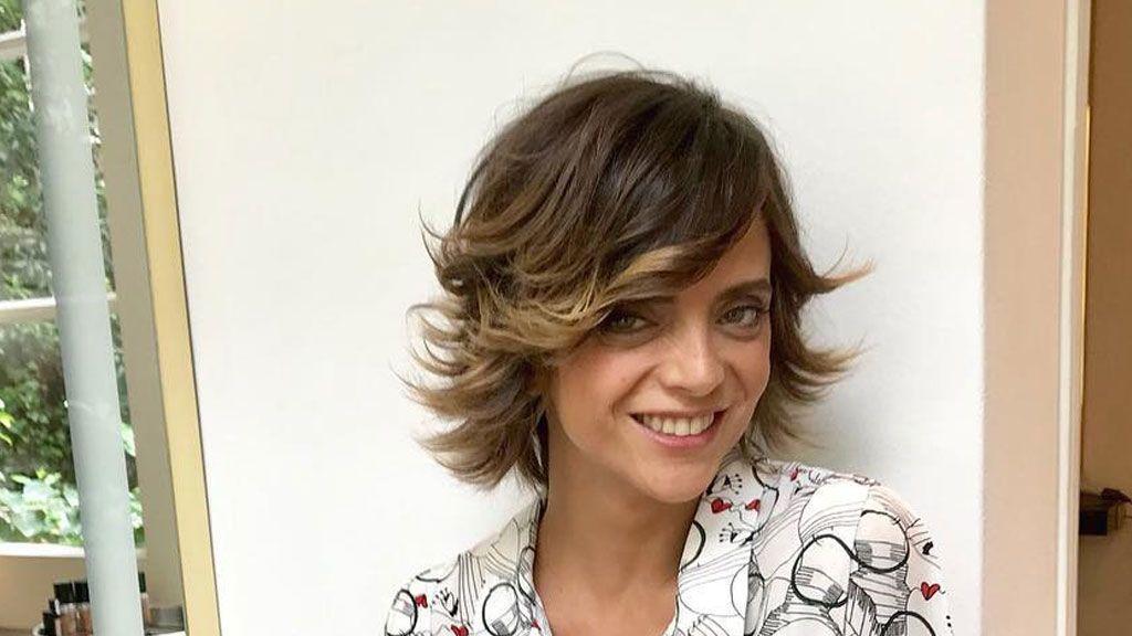 """La historia de la perrita perdida de Macarena Gómez acaba con final feliz: """"Tenemos a Costra"""""""