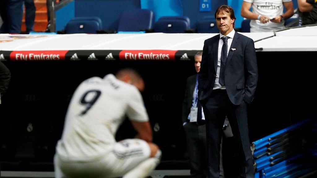 El Real Madrid, en caída libre (1-2)