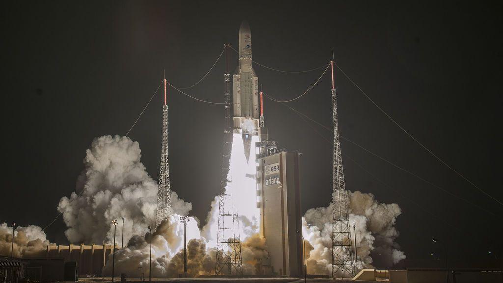 La nave espacial Bepicolombo despega para investigar los misterios de Mercurio