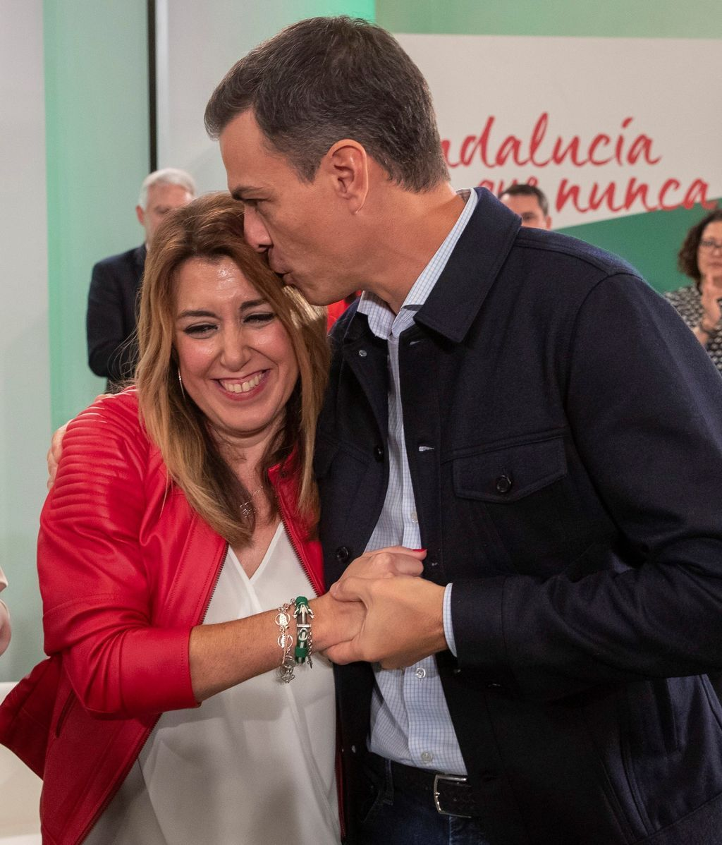 Susana Díaz, proclamada como candidata del PSOE-A a la Presidencia de la Junta