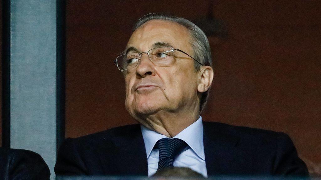 La imagen viral de Florentino Pérez tras la derrota frente al Levante