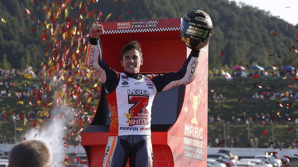 Marc Márquez, campeón del mundo de Moto GP por quinta vez