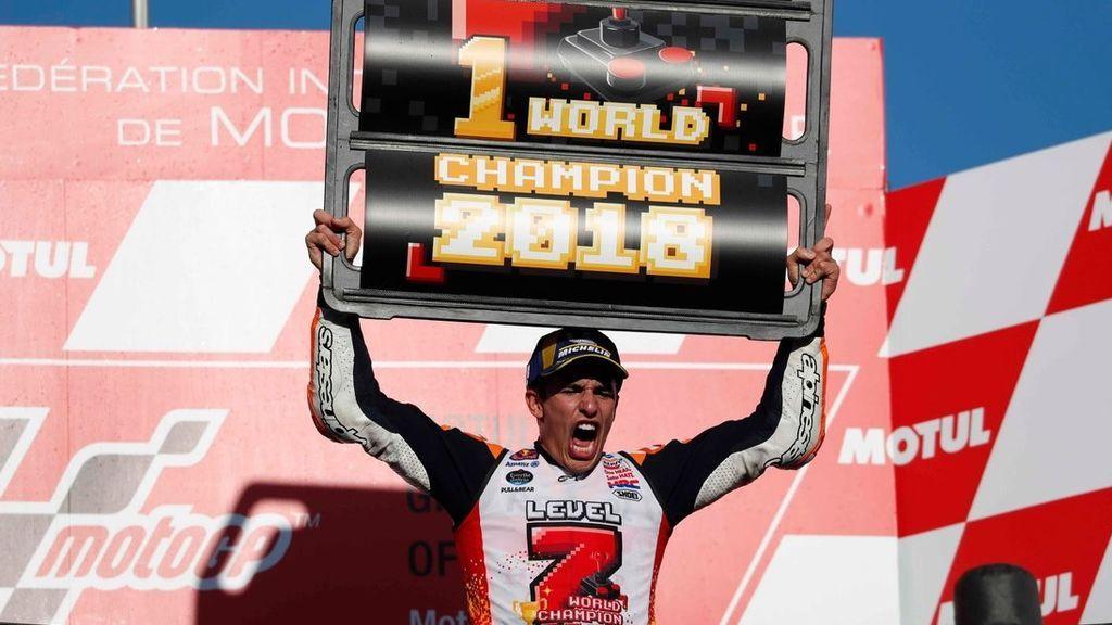 Marc Márquez y las felicitaciones más emotivos en redes sociales tras ganar su quinto mundial de Moto GP