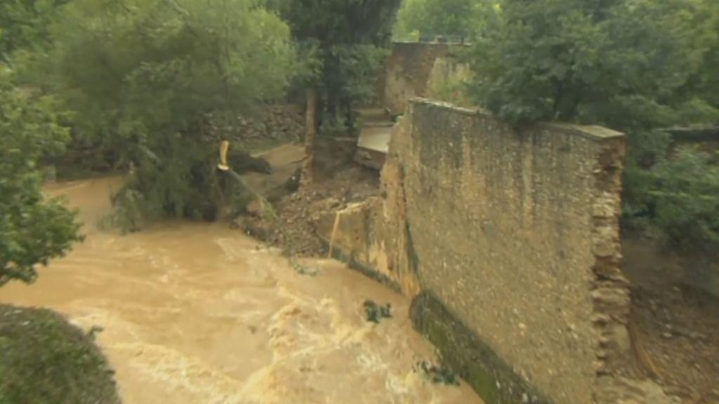 Los destrozos de las fuertes lluvias en Andalucía en imágenes