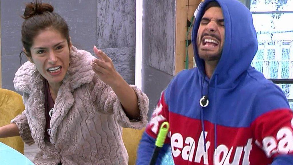 """El enfrentamiento de Suso con Miriam que ha encendido las redes: """"¡Estás muy subidita!"""""""