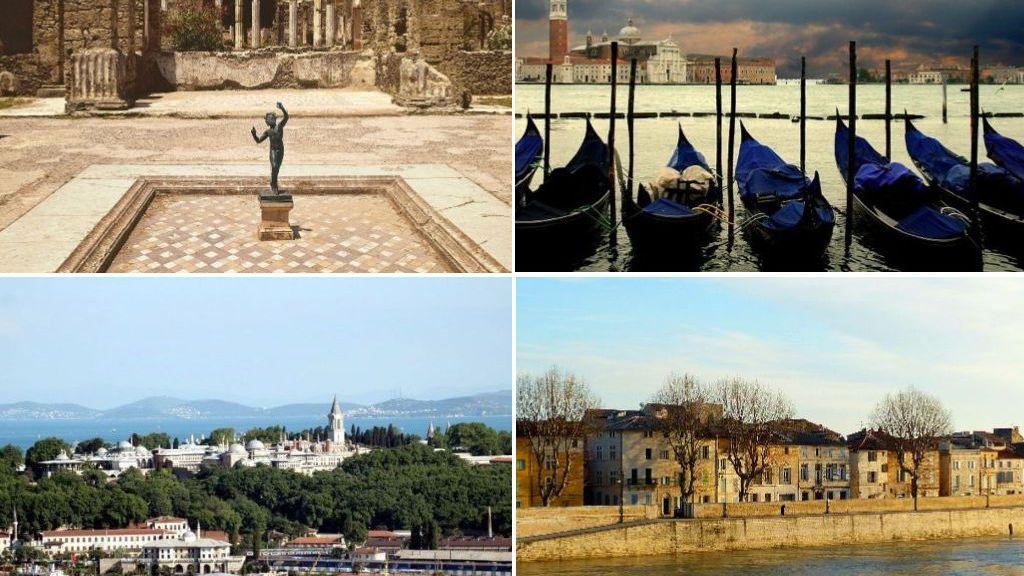 Ciudades históricas amenazadas por la subida del nivel del mar