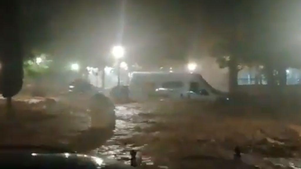 Los cinco vídeos más impactantes de las inundaciones de Málaga en redes