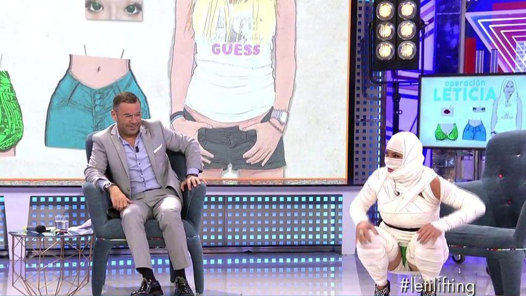 """Leticia Sabater provoca risas en el plató: """"No hace falta hacerme un blanqueamiento anal, cuando tenía el ojo mal me lo veía"""""""