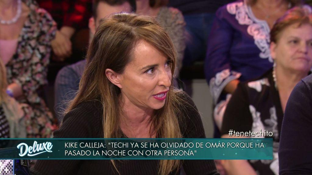 """María Patiño estalla contra los 'haters' de Techi: """"Me parece inmoral"""""""