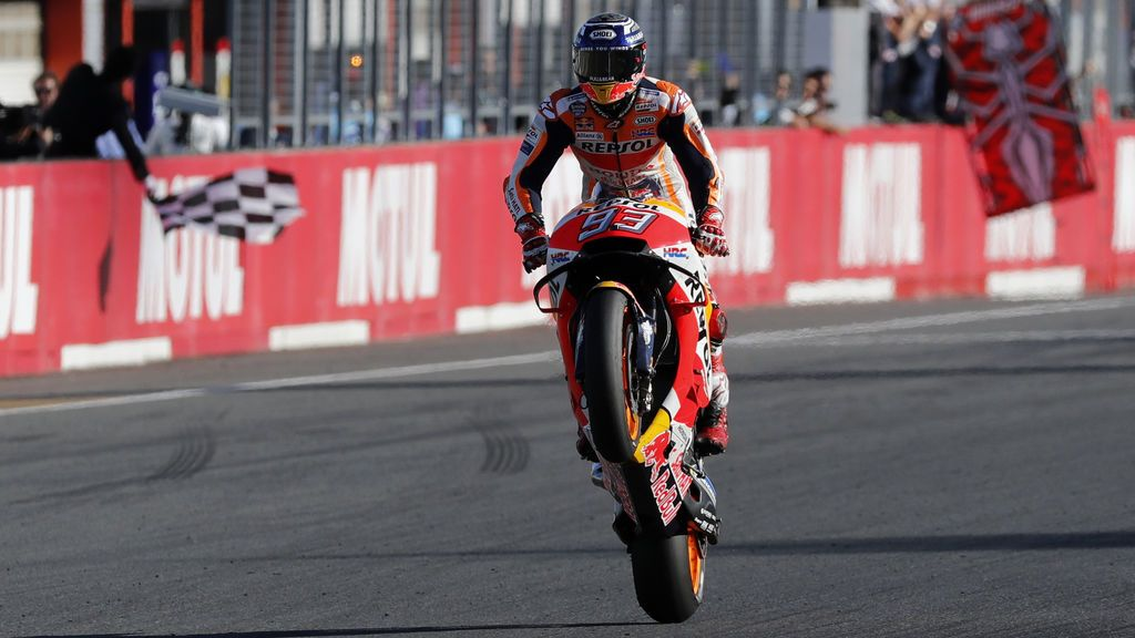 Marc Márquez, campeón del mundo de MotoGP por quina vez